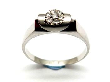 Bague or et diamants AN3400299