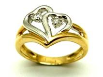 Anillo de oro y diamantes AN34002001