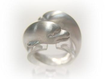 Anillo plata delfines An-p-p B-79