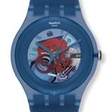 Reloj Swatch Originales SUON102 Blue Grey