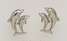 EARRING EARRING GOLD - OWN - 2731-2DELFINES