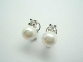 EARRINGS SILVER, YOU AND I ARE S-14 B-79