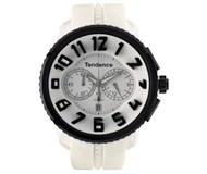 Reloj 50 mm blanco i negro 02046017 Tendence