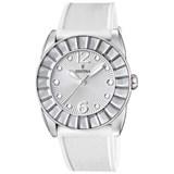 Reloj Festina mujer acero silicona blanca F16540/1