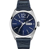 WATCH MAN STRAP LEATHER ANALOG W0658G1 GUESS