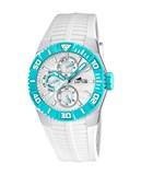 Reloj Marc Márquez blanco azul Lotus