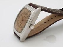 Reloj Relos Fossil  fs4013 caballero acero y correa piel