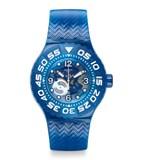 Reloj scuba azul suus100 Swatch