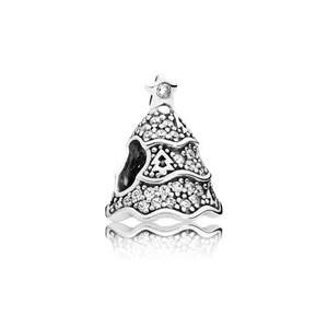 Abalorio Charm Árbol de Navidad Pandora 791765CZ