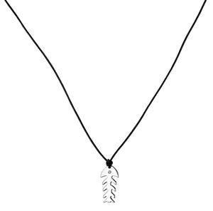 Abalorio collar acero colgante pez esqueleto 8435334801924 DEVOTA Y LOMBA Devota & Lomba
