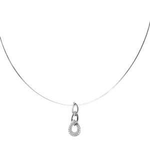 Abalorio collar colgante con circonitas 8435334802976 DEVOTA Y LOMBA Devota & Lomba