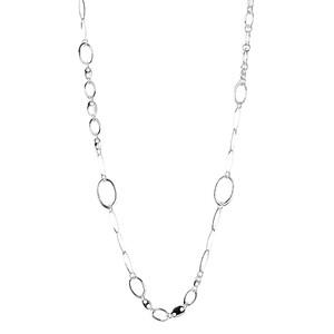 Abalorio collar de anillas cadena diferentes formas 8435334801306 DEVOTA Y LOMBA Devota & Lomba
