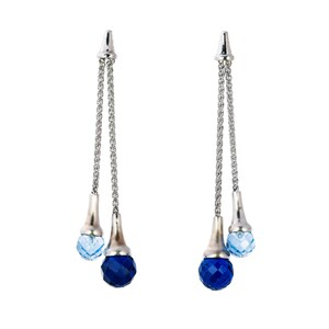 Abalorio pendientes colgantes cristales azules 8435334802129 DEVOTA Y LOMBA Devota & Lomba