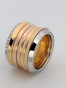 Anillo de plata y oro rosa. LCD-3098/130 Oreage