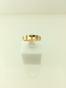 ANILLO OR 18 KILATES CON CIRCONITAS 921961