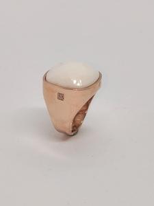 Anillo oreage carnelian  diamantes lcd-3106