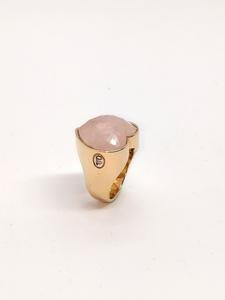 Anillo oreage Cuarzo diamantes
