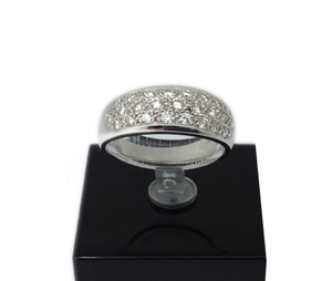 ANILLO ORO BLANCO Y DIAMANTES 970012