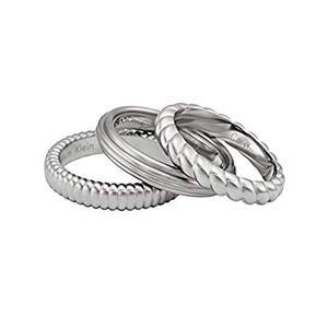 anillo trio CK Calvin Klein AN08KJ17AR010205
