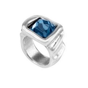 Anillo Uno de 50 azul la jojoya ANI0486