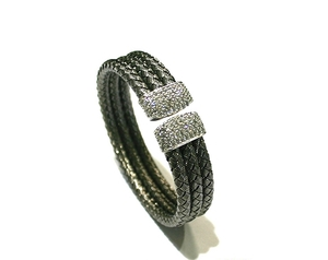 Brazalete de plata brcl037b Kavak Diamonds