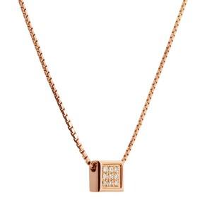 Colgante de oro rosa y diamantes. CNP-0139/199 Oreage