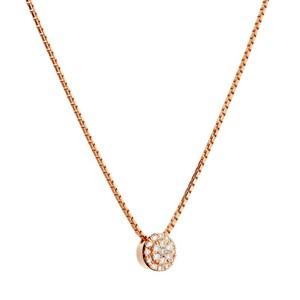 Colgante de oro rosa y diamantes. CNP-0479/18 Oreage