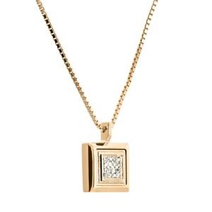 Colgante de oro y diamantes. CNP-0201/19 Oreage