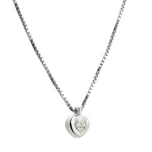 Colgante de plata con diamantes. CNP-0279/225 Oreage
