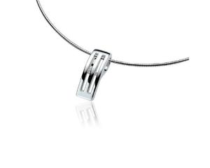 Colgante de Plata y Diamante Zinzi ZDH15