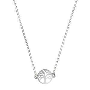 Collar Árbol de la vida silver 8435445310810 Lua Blanca