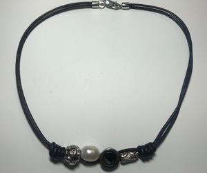Collar CO3444P Top Silver