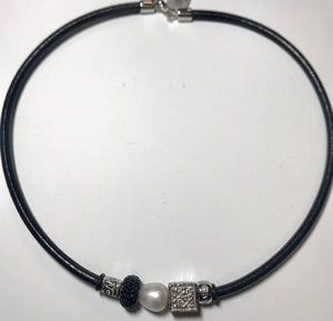 Collar CO3762P Top Silver