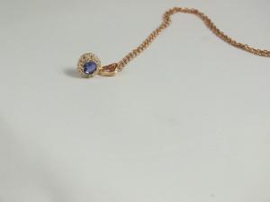 Collar Colgante Amura con iolita ARBW006P