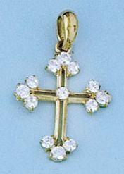Collar COLGANTE ORO - Propia - 2480-cruz