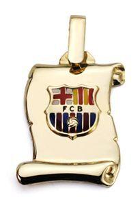 Collar COLGANTE ORO - Propia - p5a2167-barça