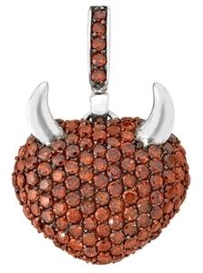 Collar COLGANTE PLATA - Propia - 1112-corazon