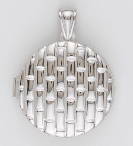 Collar COLGANTE PLATA. - Propia - 2539-portafoto