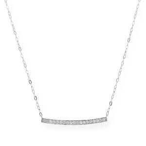 Collar con Colgante de Oro de Ley con Diamantes M690B-GRA