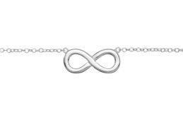 collar de plata infinito - Artesanal - IV06