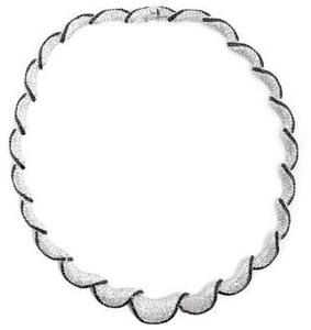 Collar GARGANTILLA  C10211 LineArgent
