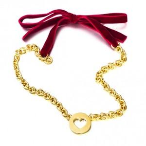 Collar GARGANTILLA VELVET PARIS GOLD VP03G