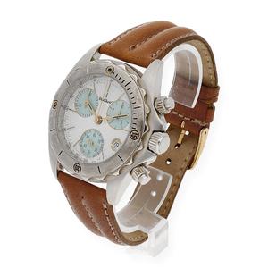 Reloj Cris Charl Cronograph de Hombre en Acero Inoxidable y Cuero genuino DSC1/44/0007