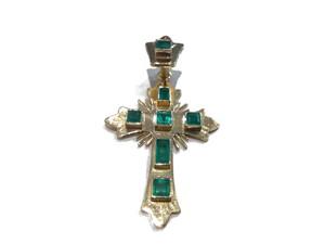 Cruz Esmeraldas Oro Ley
