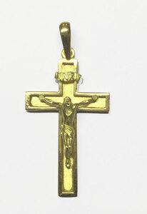 Cruz oro ley cristo