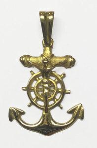 Cruz oro ley tipo marinero