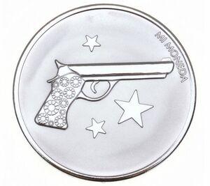 Collar MONEDA PARA EL MEDALLON DE MI MONEDA MON-AIM-01-L