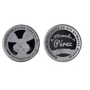 moneda ratoncito perez 30 mm