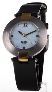 Reloj Boccia Titanio antialergico bicolor correa y esfera nacarada 364-16