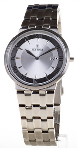 Reloj Festina acero extraplano calendario F6825-2